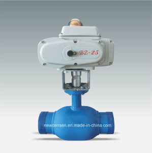 Fully Welded Electric Actuator Water Valve pictures & photos