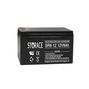 Rechargeable SLA Battery Sr8-12 12V8ah Storage Battery for Scooter pictures & photos