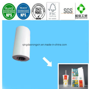 Single Side PE Coated Paper for Mcdonald′s Food Packaging Bag & Drinking Cup pictures & photos