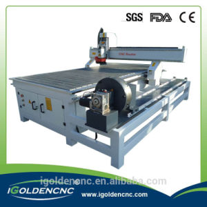 1325 1530 4 Axis CNC Router Wood Cutting Machine with Rotary Axis pictures & photos