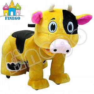 Finego Plush Walking Rocking Horse, Rocking Animal Kids Rides pictures & photos