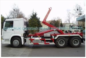 25t Sinotruk HOWO 6X4 Hook Lift Truck for Sale pictures & photos