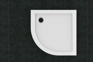 Bright Surface Quadrant SMC Shower Tray (LT-S90) pictures & photos