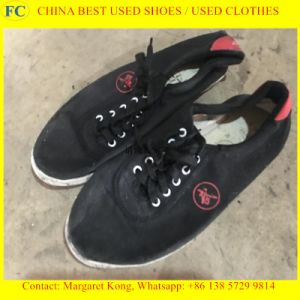 Comfortable Wholesale Used Men & Lady Shoes Sport Shoes, Leather Shoes, Leasure Shoes (FCD-005) pictures & photos