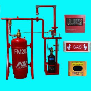 FM200 Clean Agent Gas Fire Extinguisher FM200 Fire Suppression System pictures & photos