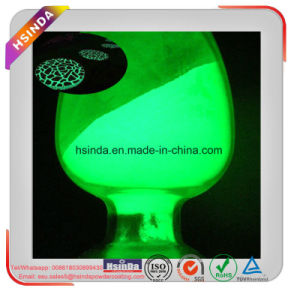 Toxic Free Electrostatic Thermosetting Glow in The Dark Pigment Powder Coating pictures & photos