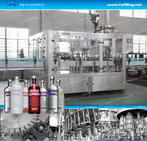 Full Automatic Vodka Filling Machine for 0.2-2L Glass Bottle