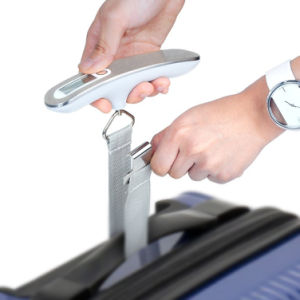 Electronic Portable Luggage Scale with Hook and Strap pictures & photos