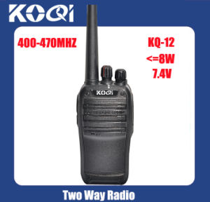 UHF 400-470MHz Chinese Walkie Talkie for Communication pictures & photos