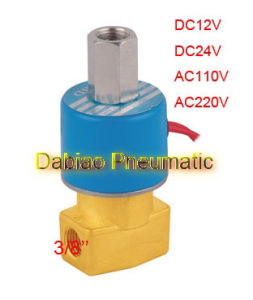 3 Way Brass Ksd Solenoid Valve DC231-Y-10 pictures & photos