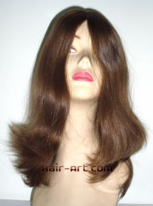 """100% Virgin European Hair Top Hand Injected Sheitels Kosher Wigs-16"""" pictures & photos"""