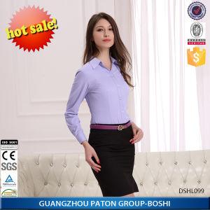 Fashionable Women Blouse, Women Top, Ladies Formal Blouse-Dshl099 pictures & photos