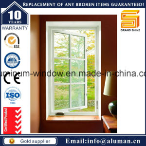Economy Powder Coating Grey Aluminum Casement Window pictures & photos