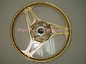Yog Spare Parts Motorcycle Aluminum Rim Complete Alloy Wheel YAMAHA Ybr 125 pictures & photos