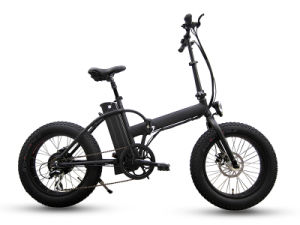 20 Inch Fat Tire Folding Electric Bike pictures & photos