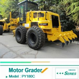 180HP Motor Grader Py180c Cummins Engine with Low Price
