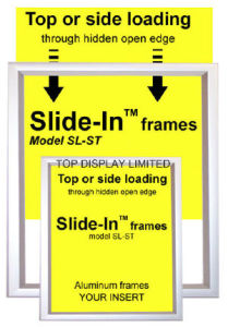 Aluminum Poster Frame, Wall Frame – Poster Display – Canaframe pictures & photos