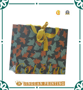 Colorful Printing with Lamination Jewelry Paper Bag