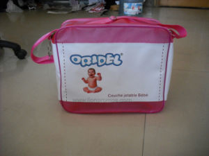 Diaper Milk Power Logo Printed Promotional Gift PVC Baby Bag pictures & photos