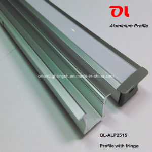 LED Recessed Aluminum Profile with Fringe for LED Strip (ALP2515) pictures & photos