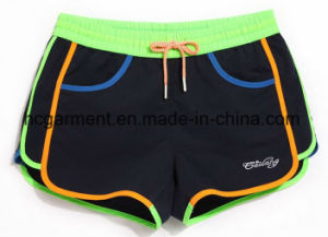 Solid Color Sex Quickly Dry Beach Wear, Board Shorts for Women/Lady pictures & photos