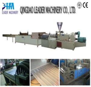 PVC PE Corrugated Sheet Extrusion Line pictures & photos