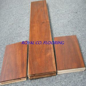 Popular Acacia Engineered Wood Flooring Tile for Building Material