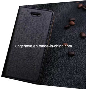Fashion and Best Selling Leather for iPhone 5 Case (KCI02-1) pictures & photos