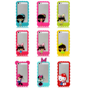 Silicone Bumper Frame Cover Case for iPhone5/5s pictures & photos