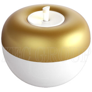 5 LED New Design Apple Shape Golden Night Light