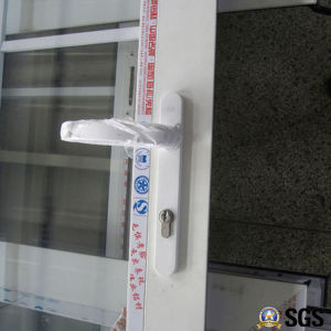 High Quality White Colour Powder Coated Aluminum Casement Door, Aluminium Door, Door K06014 pictures & photos