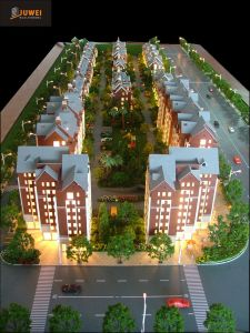 1: 100 Scale Architectural Model Making, Plastic Residential Model (JW-315) pictures & photos