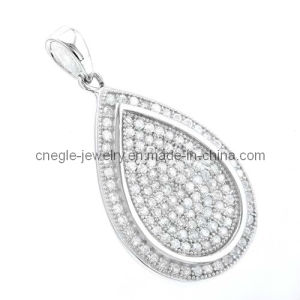 Fashion 925 Water-Drop CZ Pendant/Fashion Jewelry