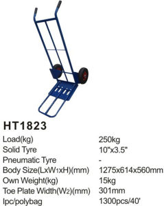 High Quality Floding Ht1823 Hand Truck/Hand Trolley pictures & photos