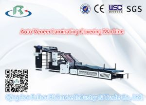 Cold Veneer & Laminaor Covering Machine for Corrugated Paper pictures & photos