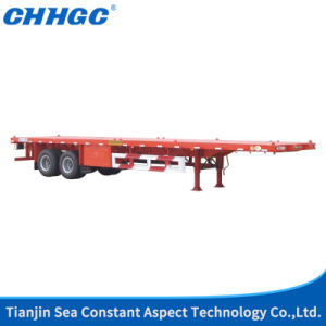 40t Payload Flatbed Trailer 40FT Container Trailer pictures & photos