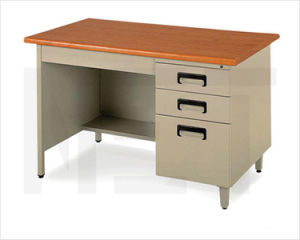 Office Furniture Workstation Use 6 Drawer Melamine Board Desk Table pictures & photos