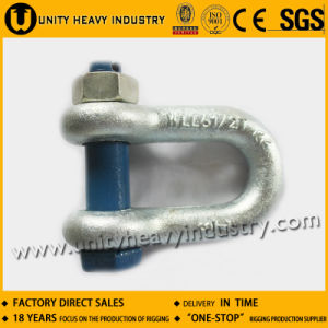 G 2150 U. S Type Drop Forged Bolt Safety Anchor Shackle