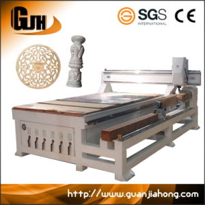 2D & 3D, Wood, Stone, Metal, Rotary Axis CNC Router pictures & photos