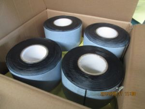 Polyethylene Anti Corrosion Butyl Pipe Wrap Tape, PE Underground Anticorrosion Pipe Wrap Tape, Wrapping Adhesive Duct Tape pictures & photos