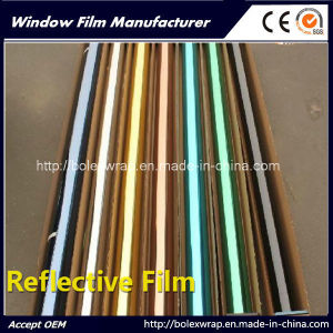 Solar Film, Reflective Film One Way Mirror Solar Control Building Window Film pictures & photos