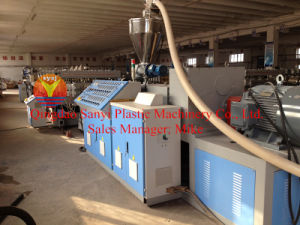 PVC Crust Foam Board Plastic Extrusion Machinery for Construction pictures & photos