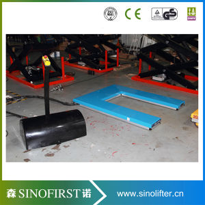 Settled Hydraulic Scissor Lift Table with Ce pictures & photos
