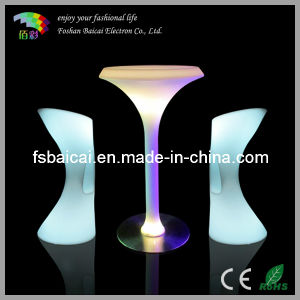 LED Banquet Table with Chair (BCR-877T, BCR-811C) pictures & photos