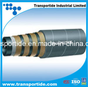 Hydraulic Rubber Hose with Wire Spiral for Extreme High Pressure pictures & photos