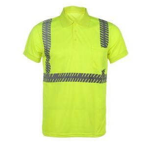 Hi Vis Reflective Safety Work T-Shirts pictures & photos