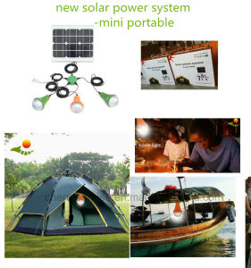 Best Sun Powered Lights portable 6W LED Rechargeable Emergency Light pictures & photos