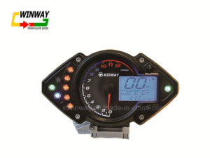 Digital LCD Digital Motorcycles Speedometer for Qj125-26 pictures & photos