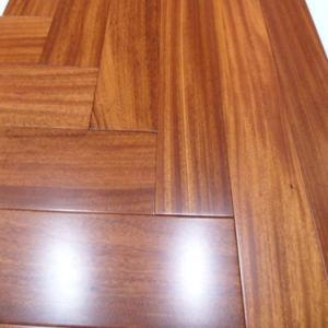 Foshan Factory African Iroko Parquet Hardwood Flooring pictures & photos