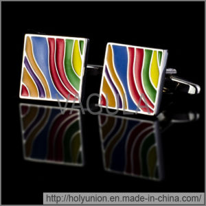 VAGULA Cuff Links Colorful French Cufflinks (Hlk31691) pictures & photos